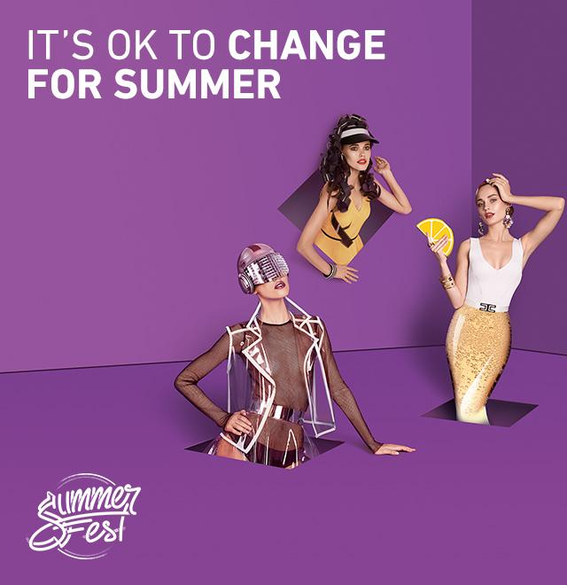 it's ok to change for summer!